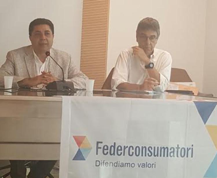 ALFIO LA ROSA SERGIO VEROLI FEDERCONSUMATORI ACQUA PUBBLICA